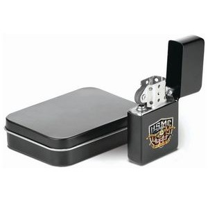 Lighter with Tin Case