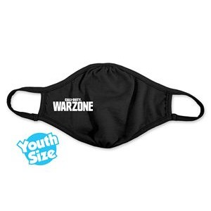 Youth Size Reusable Eco-friendly Face Mask - Full-Color Transfer